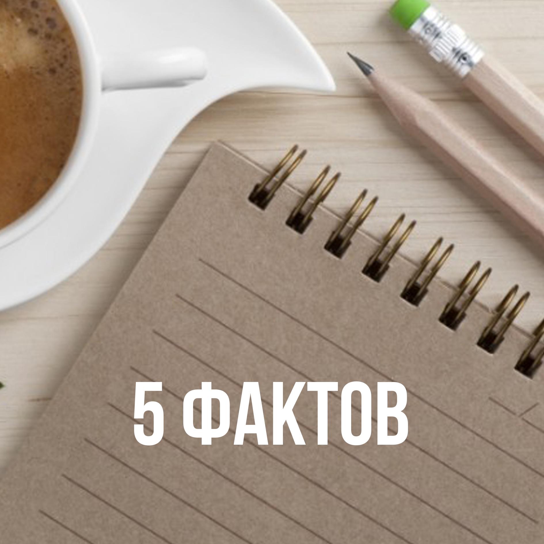 5 фактов