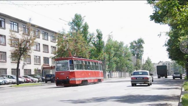 Трамвай в Витебске