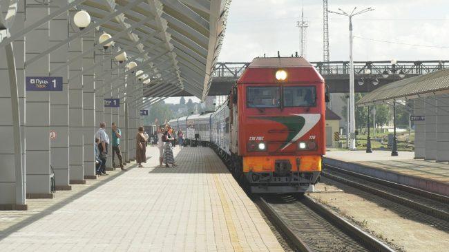 фестивальный поезд