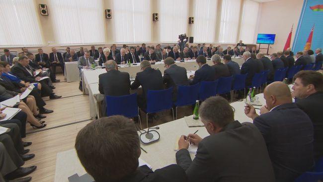 совещание в Орше