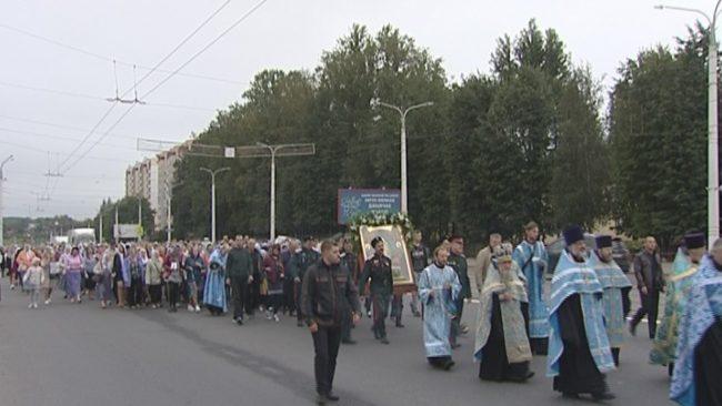 Крестный ход в Витебске
