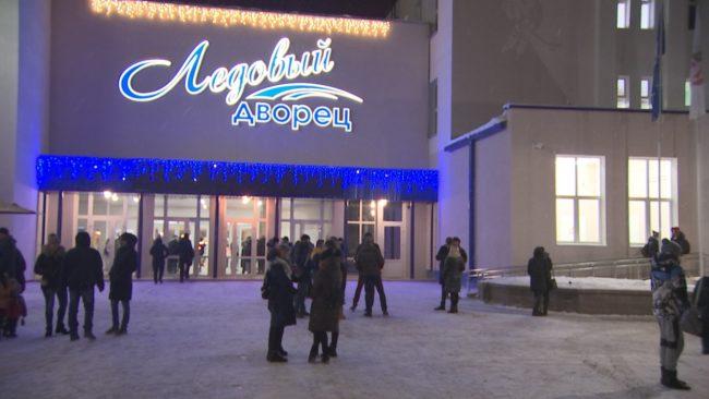 Дворец спорта в Новополоцке