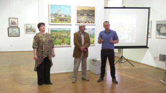 Выставка Виктора Данилова