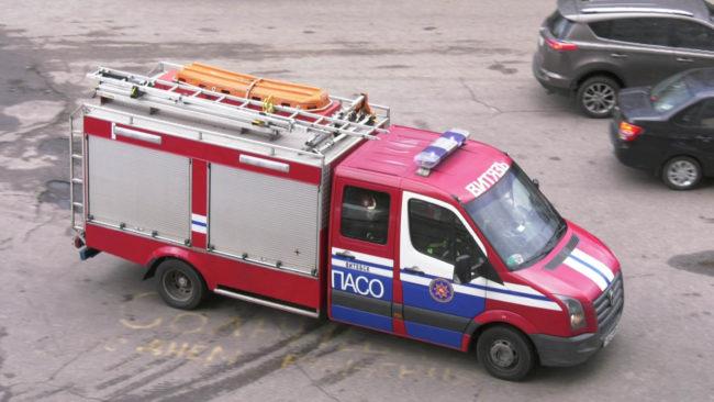 uchenija mchs 650x366 - В Витебске «загорелось» студенческое общежитие (видео)