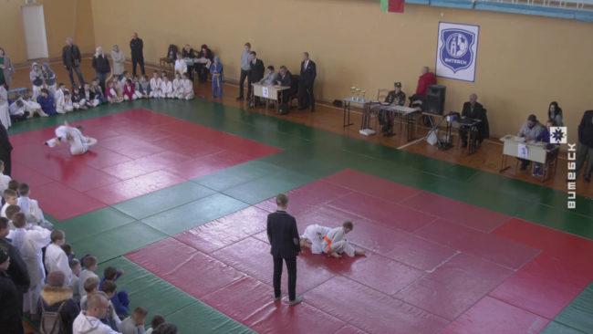 dzjudo 650x366 - Турнир по дзюдо памяти Владимира Гракова проходит в Витебске (видео)