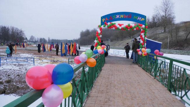 es i polsha pomogajut vitebsku 650x366 - Инклюзивный детский парк открыли в Витебске (видео)
