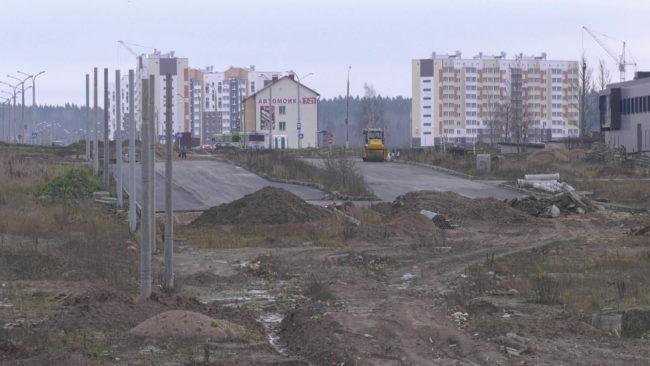 novaja doroga v bilevo 650x366 - Как в Витебске идёт строительство новой дороги в Билево? (видео)
