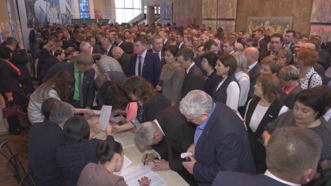 vybory senatorov 650x366 - Как в Витебской области выбирали членов Совета Республики? (видео)