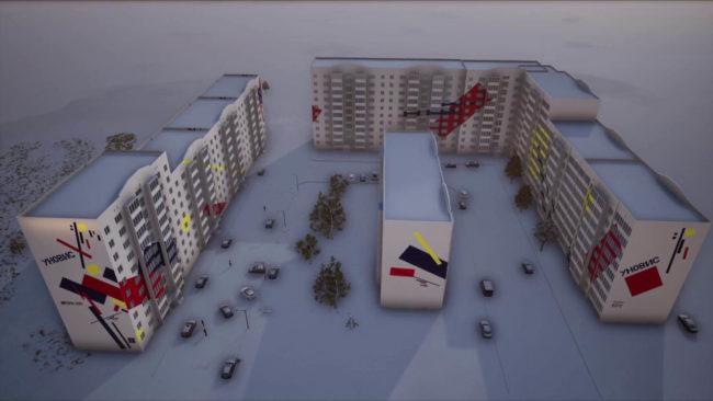 unovis 650x366 - В Витебске появятся светящиеся дома (видео)