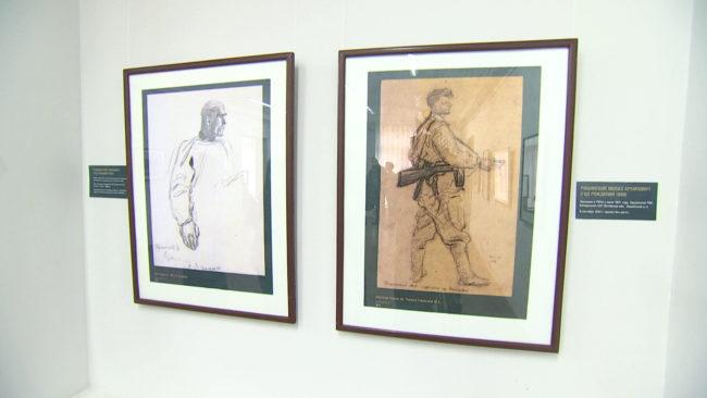 frontovye portrety 650x366 - Выставка «Фронтовой портрет. Судьба солдата» открылась в Новополоцке (видео)