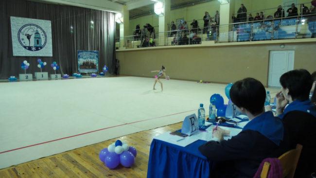 gimnastika 650x366 - «Кубок северной столицы» собрал в Витебске около 300 гимнасток (видео)