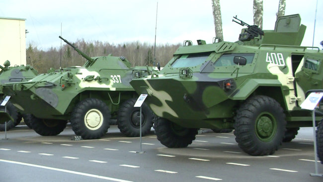 103 brigada 650x366 - Витебск готовится отметить День защитников Отечества (видео)