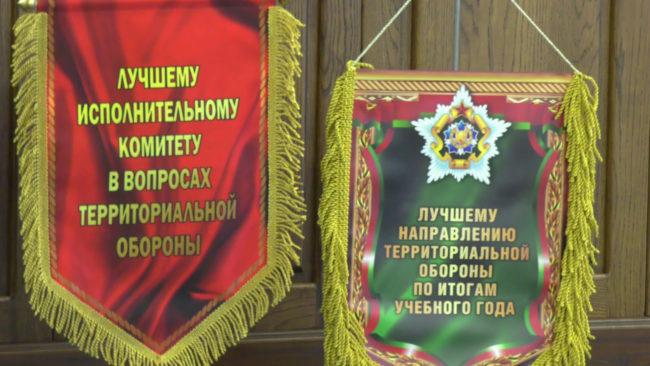oborona 650x366 - Витебская область - лучшая в стране по организации территориальной обороны (видео)