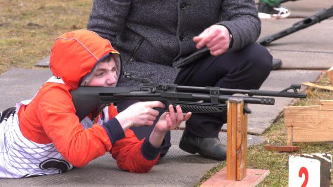 snajper 650x366 - Областной этап соревнований «Снежный снайпер» проходит в Витебске (видео)