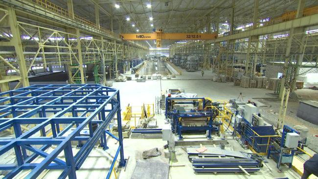 zavod 650x366 - В Миорах близится к завершению строительство металлопрокатного завода (видео)