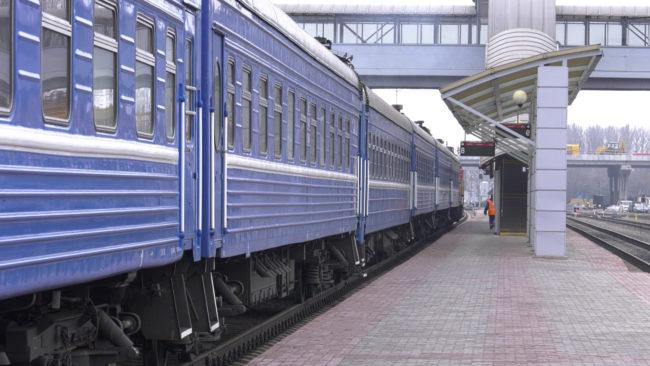 poezd 650x366 - Международное железнодорожное пассажирское сообщение приостановлено (видео)