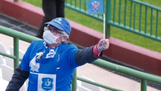 futbol 1 650x366 - «Витебск» одолел брестское «Динамо». Страсти кипели не только на поле (видео)