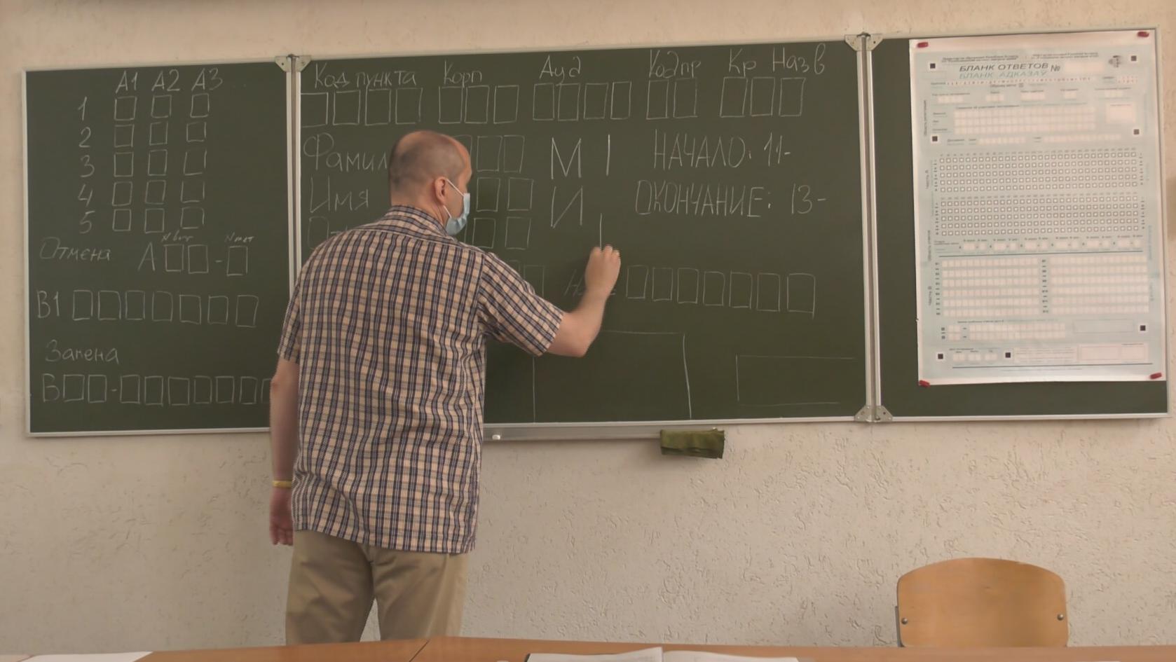 ct - Абитуриенты сдали первое ЦТ. Как проходили испытания в Витебске? (видео)