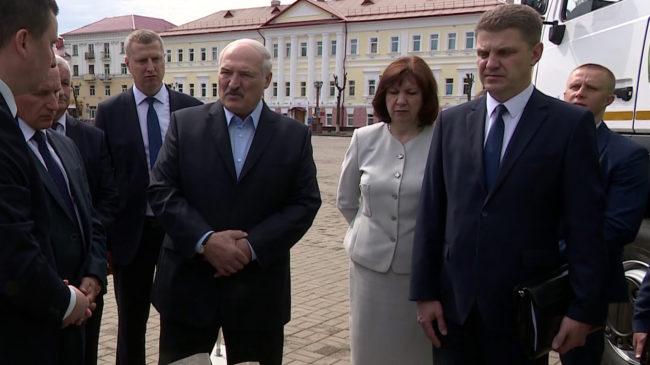 lukashenko 650x365 - Рабочая поездка Александра Лукашенко в Полоцк (видео)