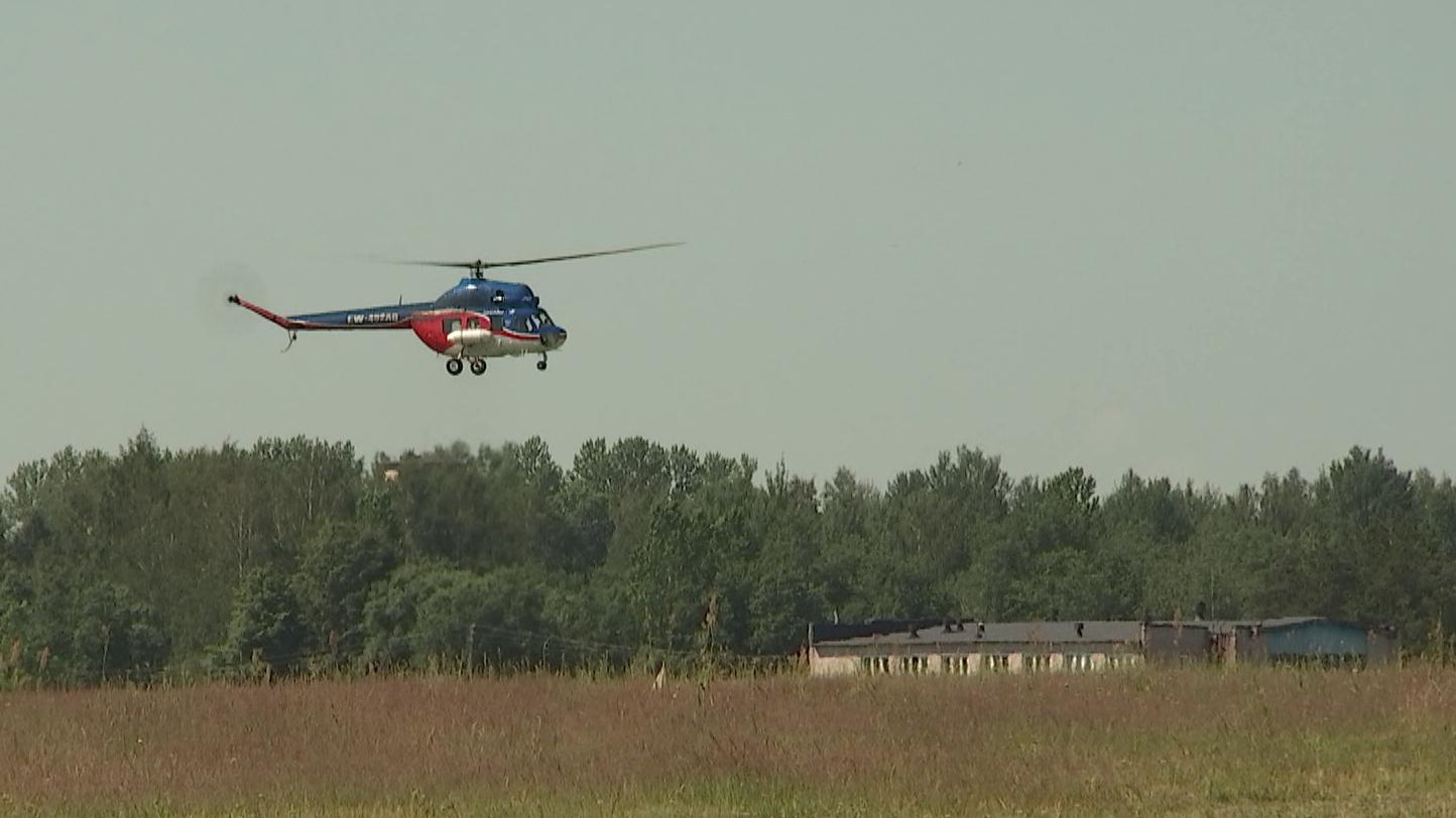 vertoljot2 - Курсанты Военной академии проходят лётную практику под Витебском (видео)