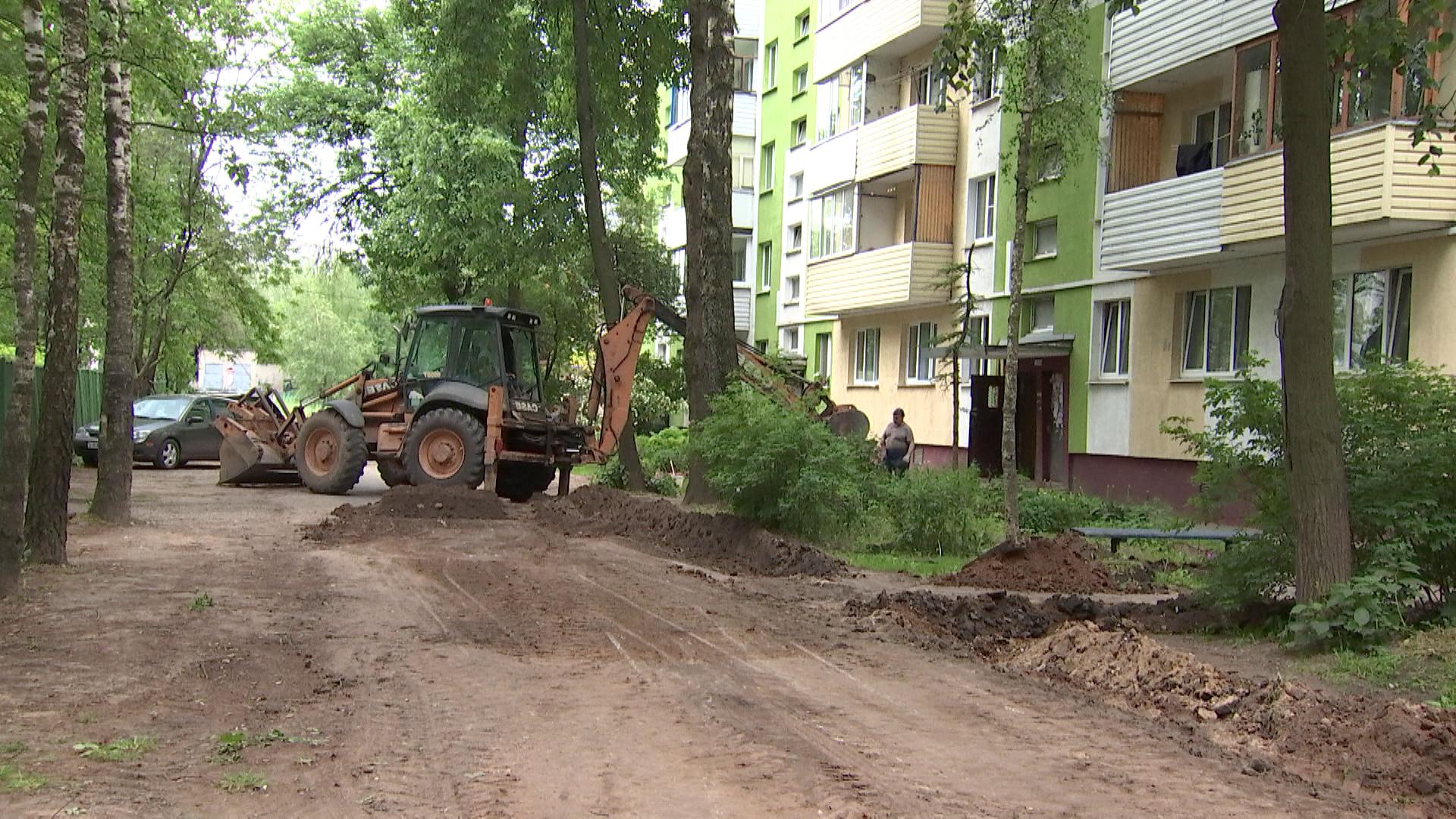 zhkh polock - Модернизация уличного освещения и благоустройство Полоцка (видео)