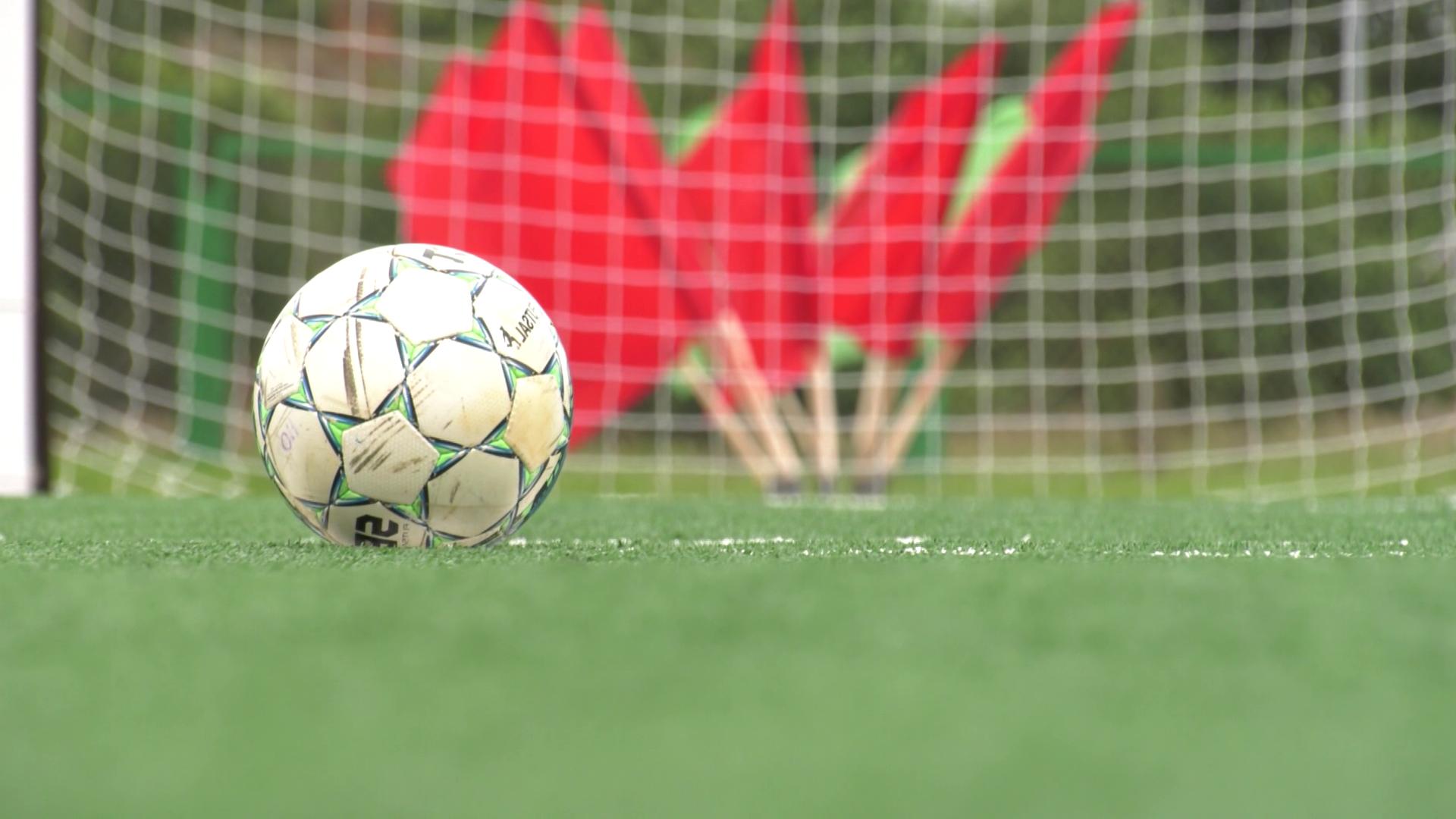 futbol - В Дубровно появилась новая спортивная площадка (видео)