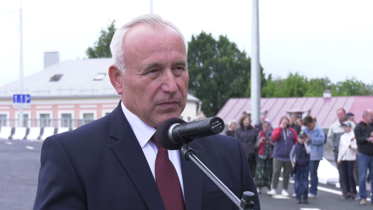 most 1 - В Витебске открыли Полоцкий путепровод. Как это было? (видео)