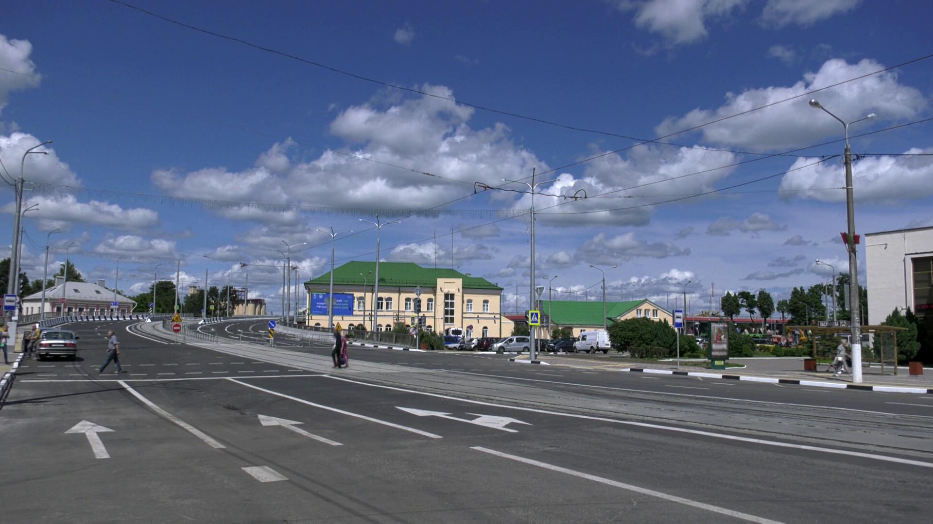 most - Строительство нового Полоцкого путепровода. Хроника событий (видео)