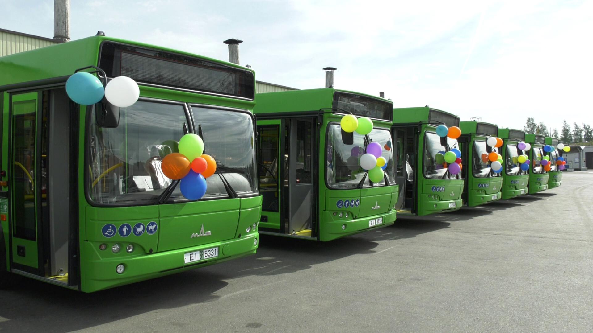 avtobusy - Витебский автобусный парк пополнился новыми автобусами (видео)