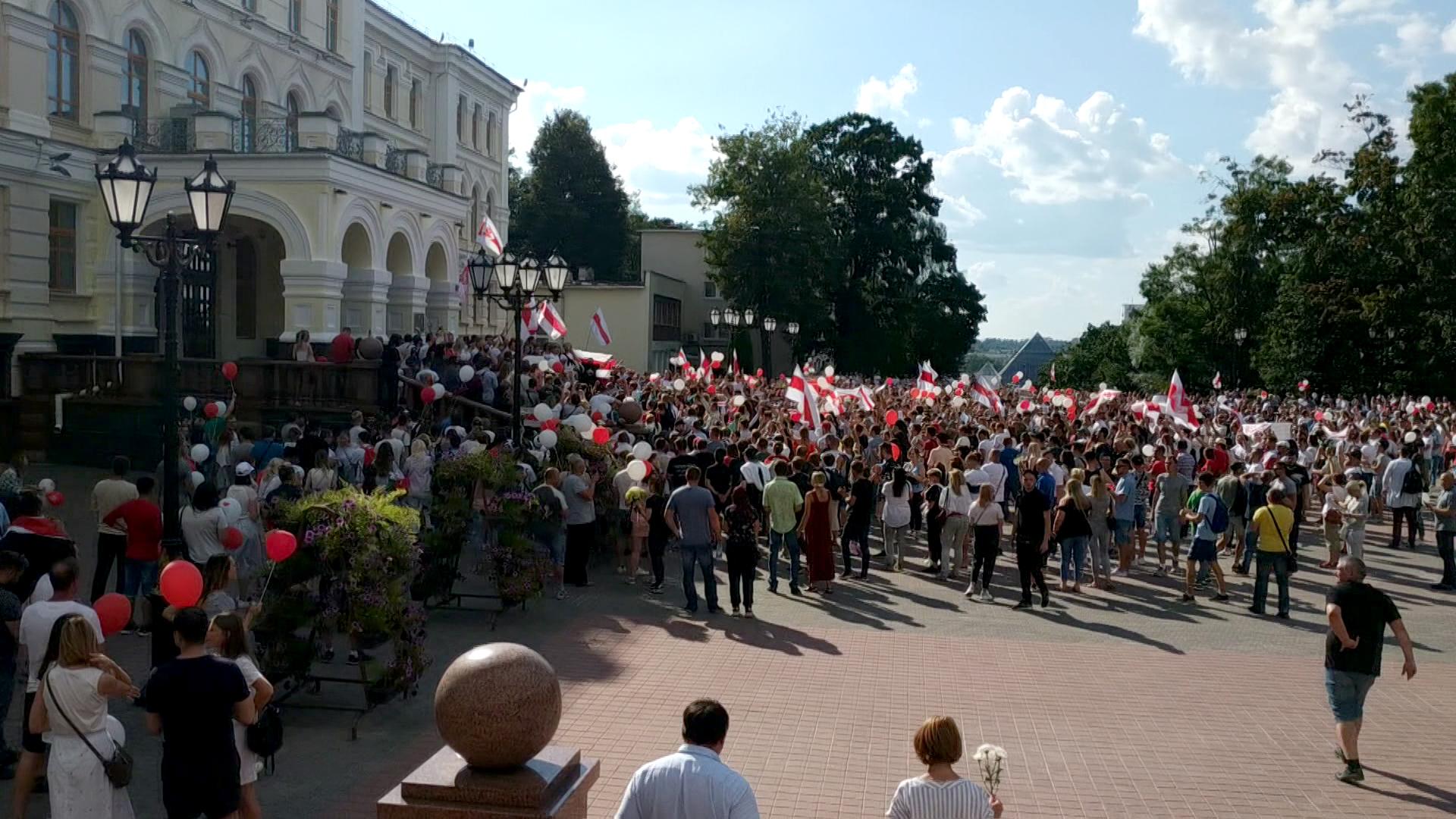 marsh - В Витебске прошла мирная акция солидарности (видео)