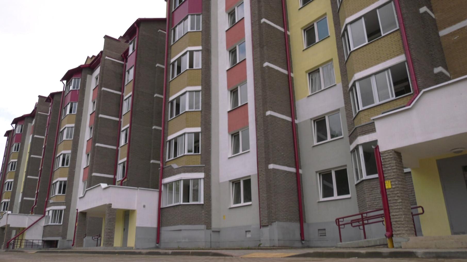 zhiljo - С начала года в области сдано 126 тыс. квадратных метров жилья (видео)