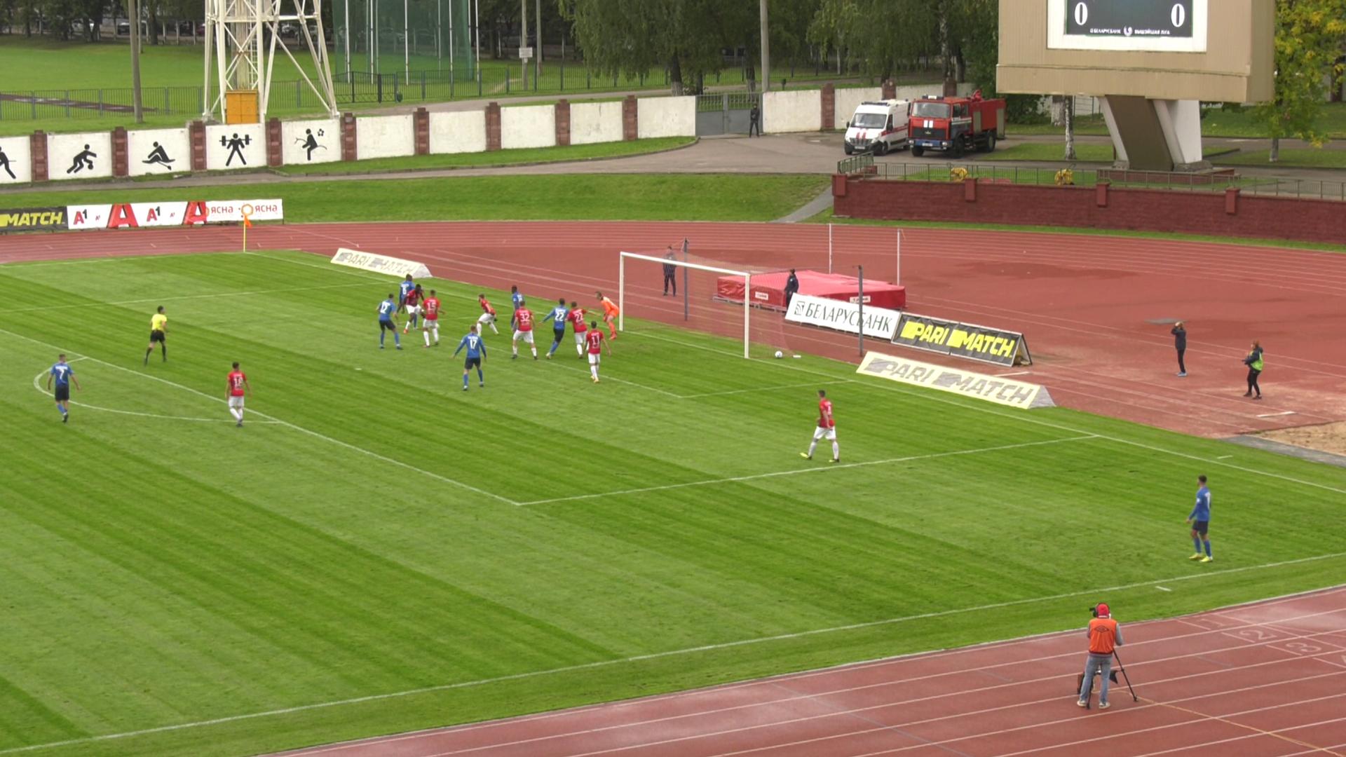belshina - Витебские футболисты сыграли вничью с «Белшиной» (видео)