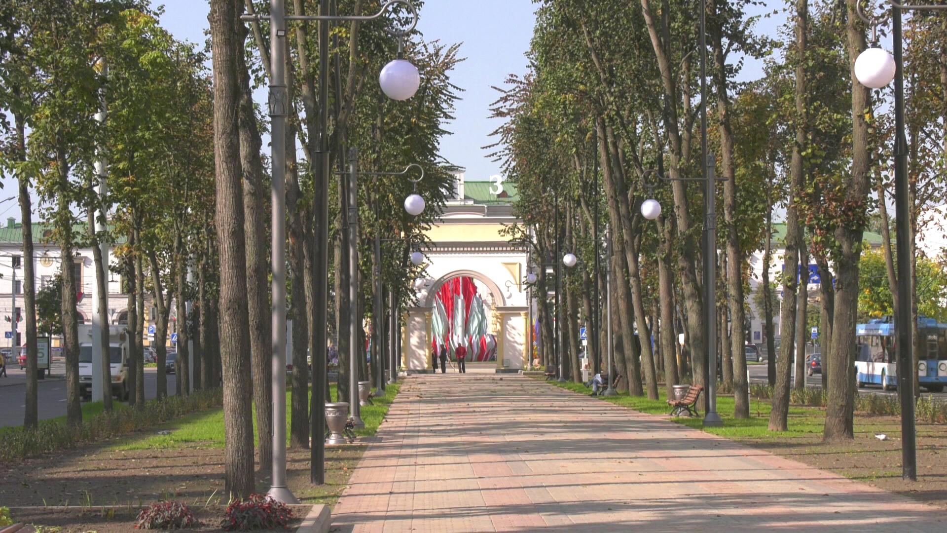 kirova 1 - На «Дажынках» в Витебске откроют обновлённый сквер на улице Кирова (видео)