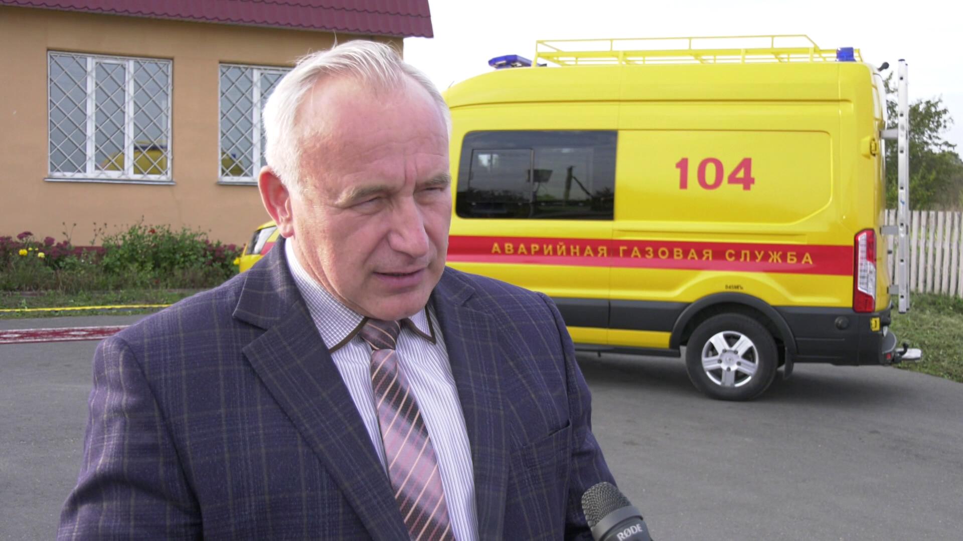 gaz sherstnjov - В Лепельском районе газифицировали деревню Юрковщина (видео)