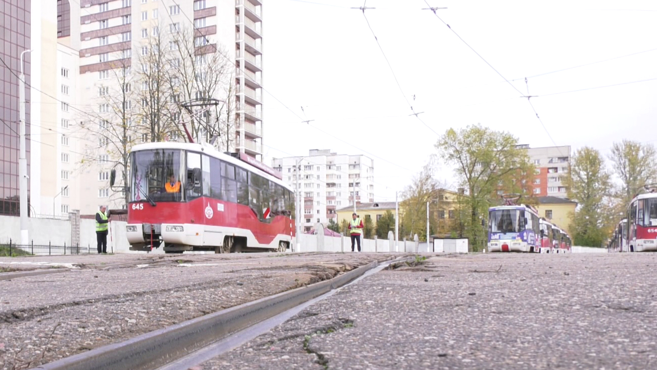 tramvajchiki - Витебский конкурс водителей трамваев стал республиканским (видео)