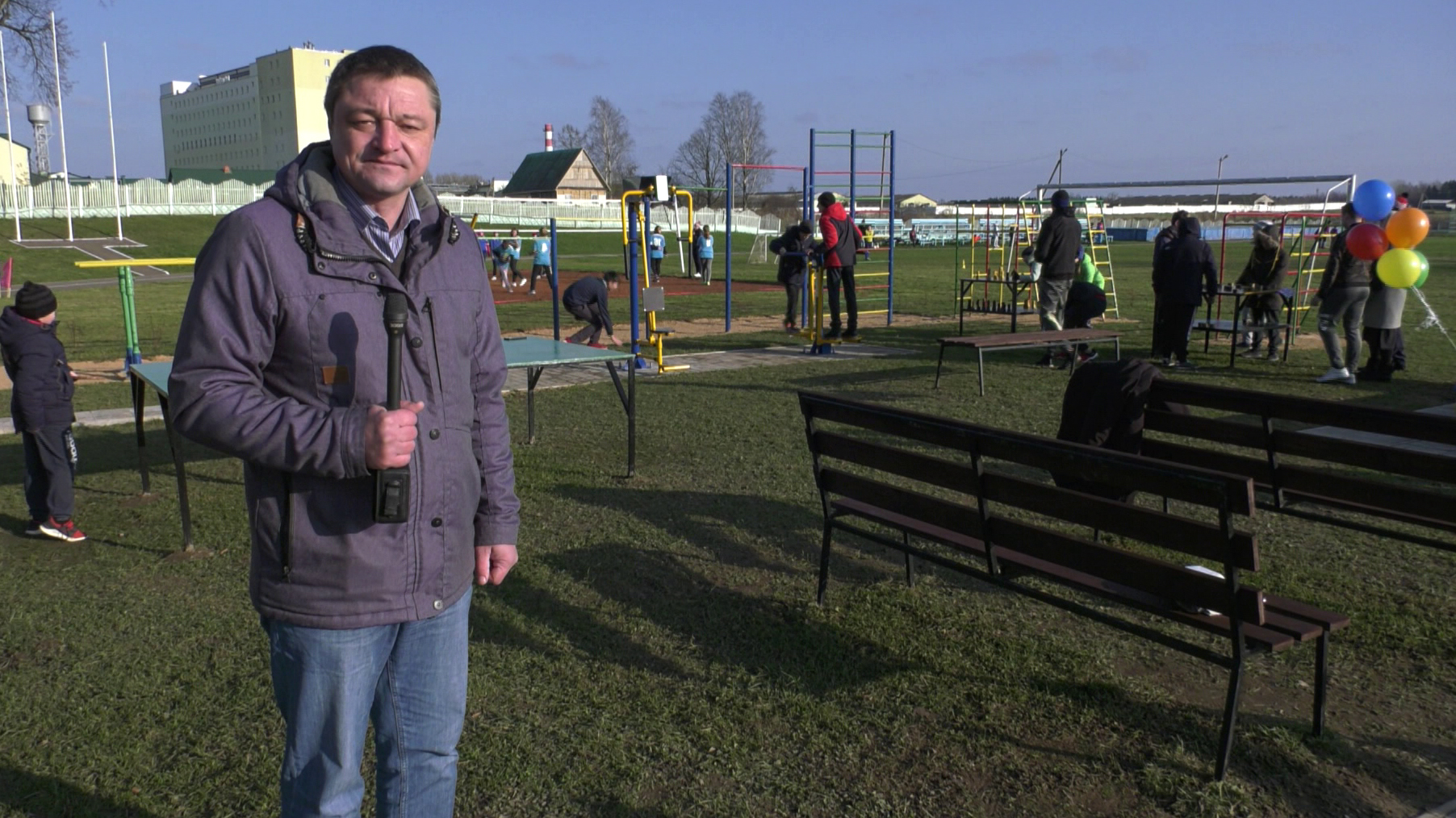 dolzha - Спортивно-культурный комплекс обустроили в Долже под Витебском (видео)