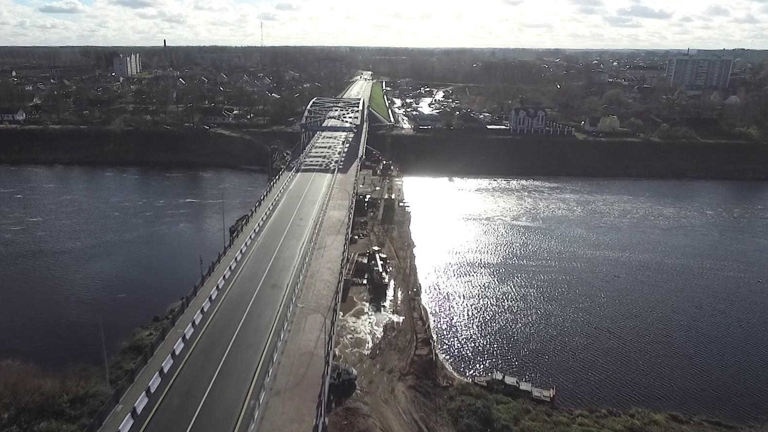 most - В Полоцке открыли обновлённый мост через Двину (видео)