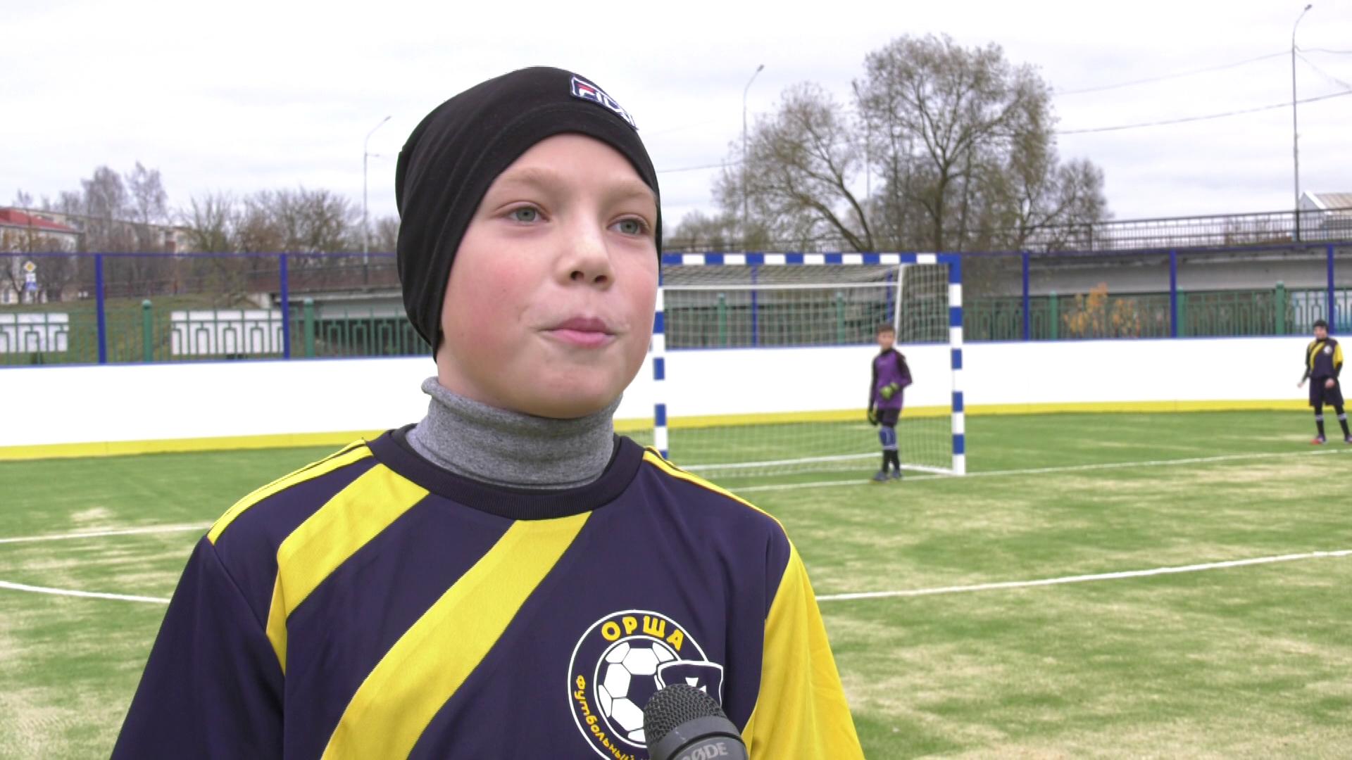 stadion v orshe - Обновлённый спорткомплекс «Олимпиец» открыли в Барани (видео)