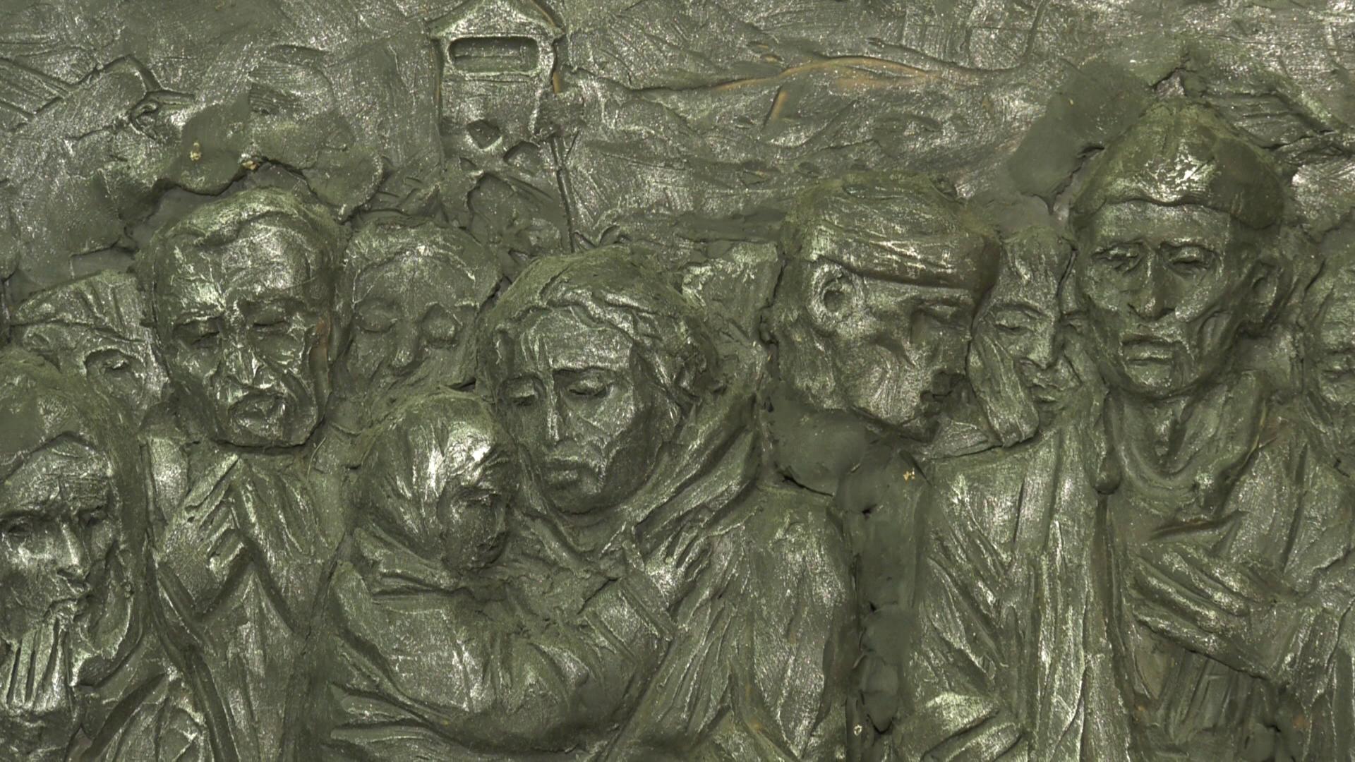 znak - Памятный знак жертвам фашизма установят у мемориала «5-й полк» в Витебске (видео)