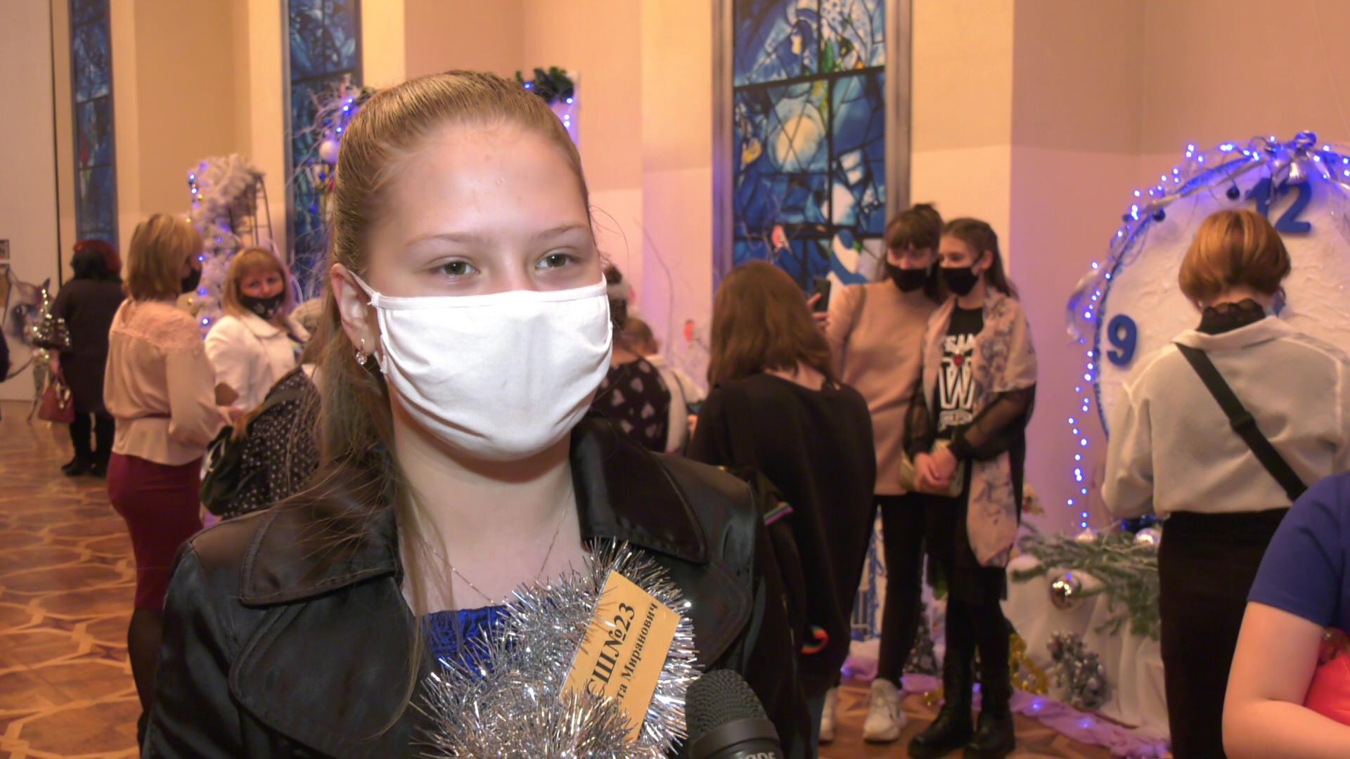 gubernatorskaja jolka - Дети со всей области приехали в Витебск на новогодний праздник (видео)
