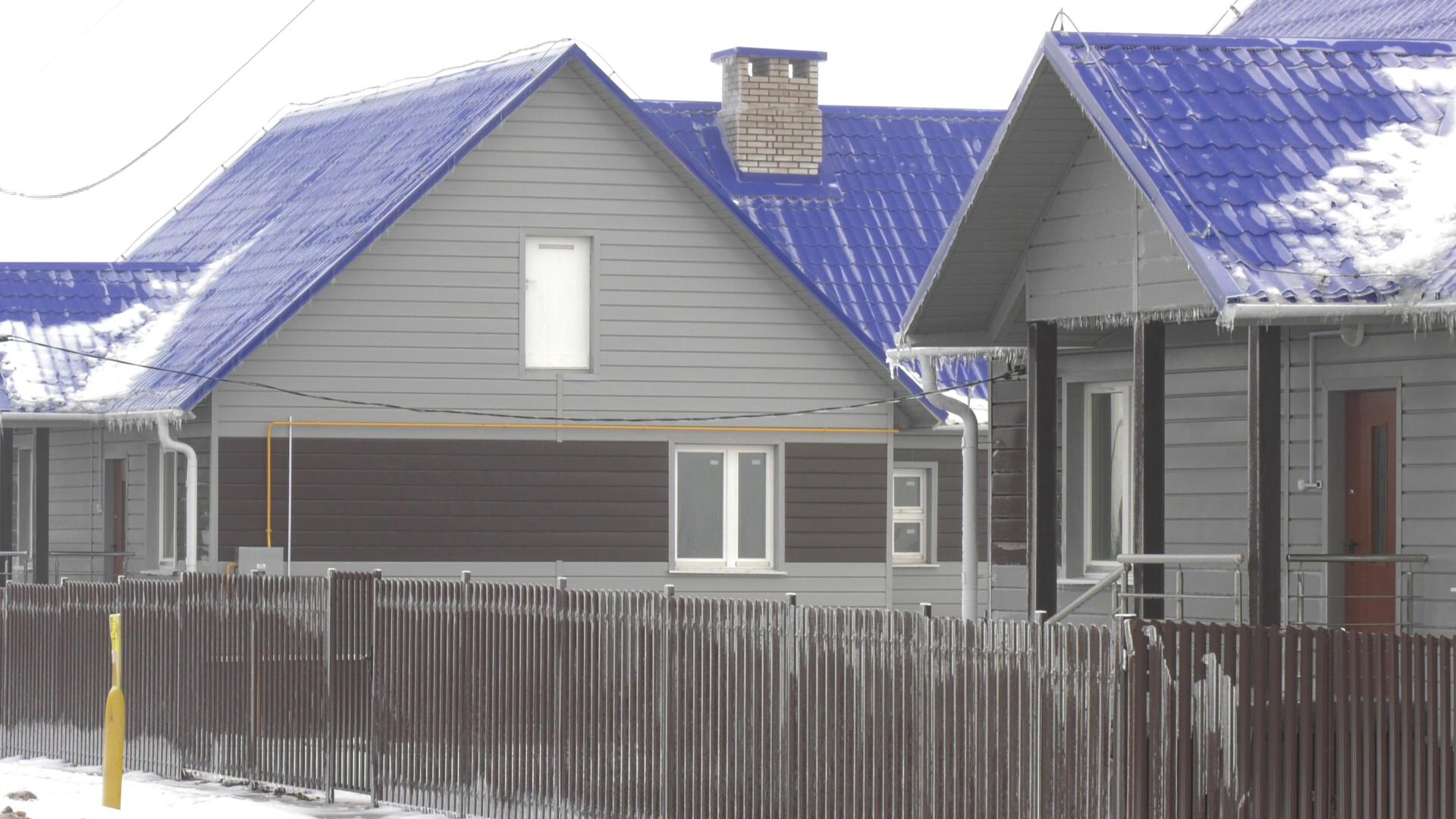 novoe zhiljo - В Оршанском районе ввели в эксплуатацию 10 жилых домов и спорткомплекс (видео)