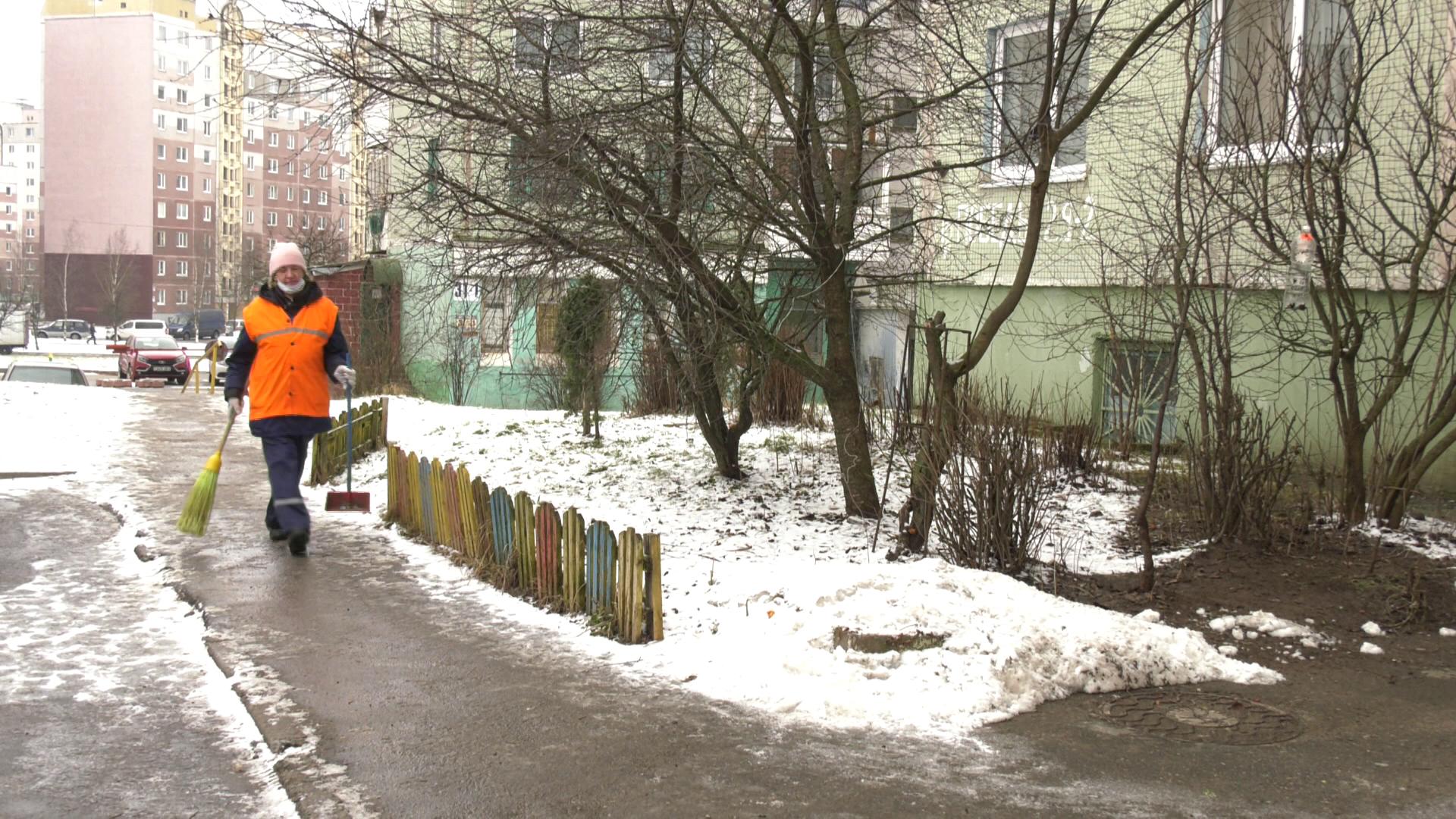 dvornik 1 - Дефицит дворников в Витебске (видео)