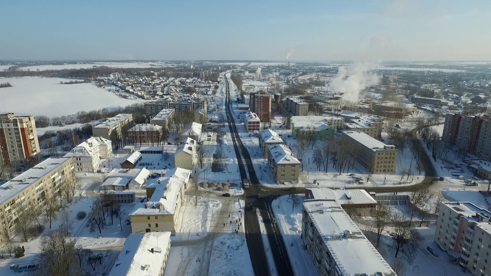 gagarina - Реконструкция улицы Гагарина в Витебске длится уже более полугода (видео)