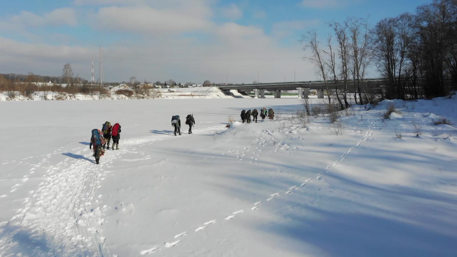 mchs - Соревнования спасателей проходят под Витебском (18.02.2021)