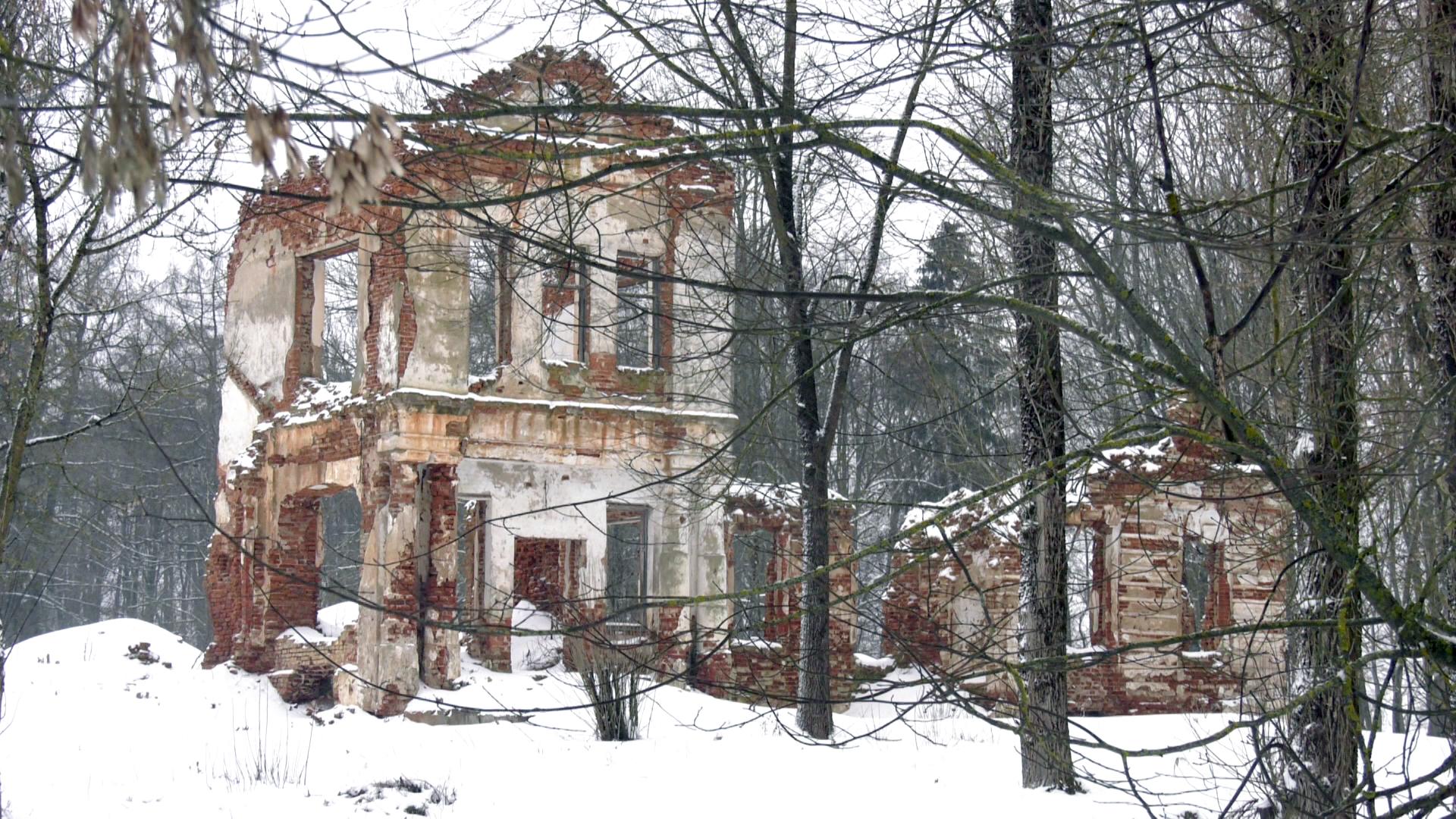 ruiny - Руины усадьбы в Сенненском районе предлагают инвесторам (видео)