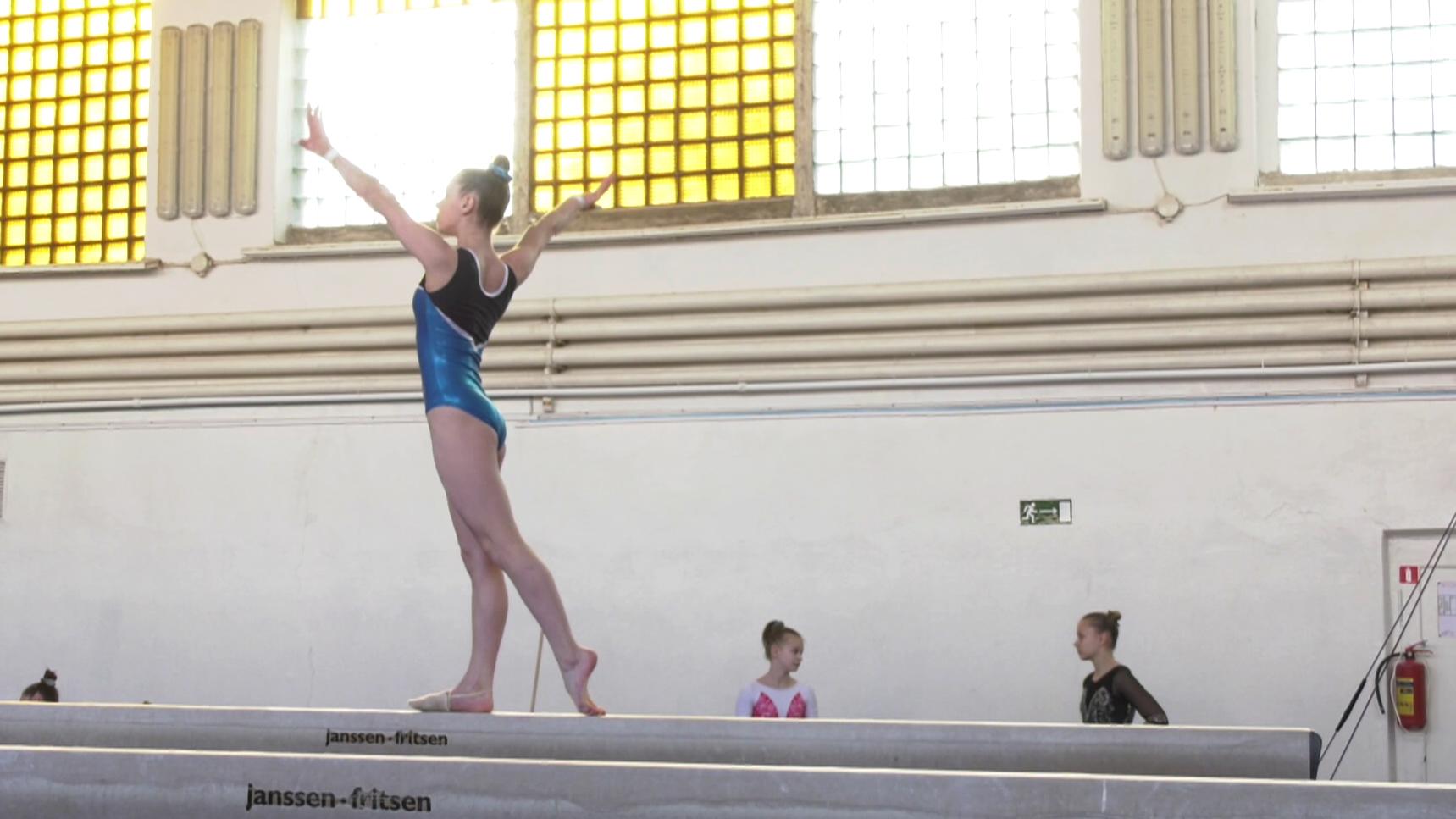 gimnastika - Турнир памяти Лазакович собрал в Витебске сильнейших белорусских гимнасток (видео)