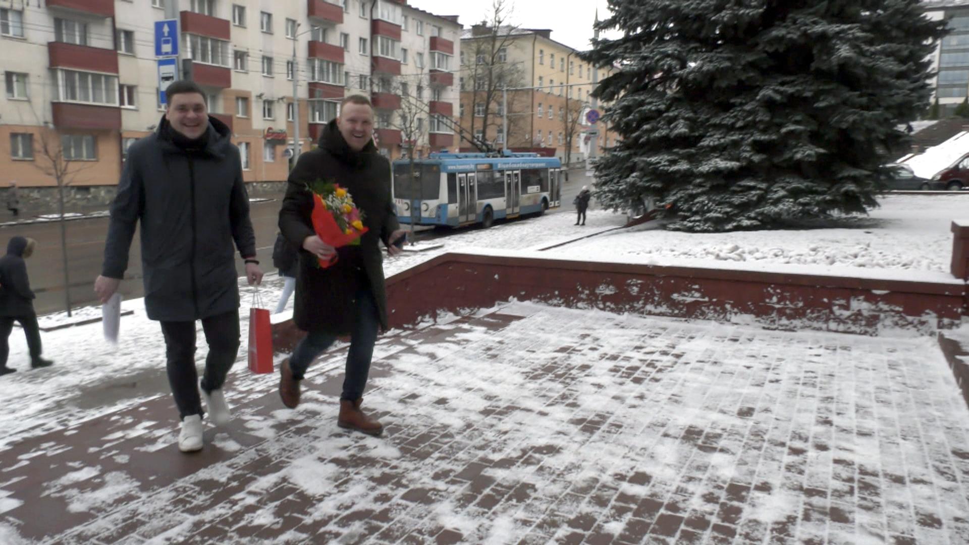 radio vitebsk - Весенние букеты от «Радио Витебск» (видео)