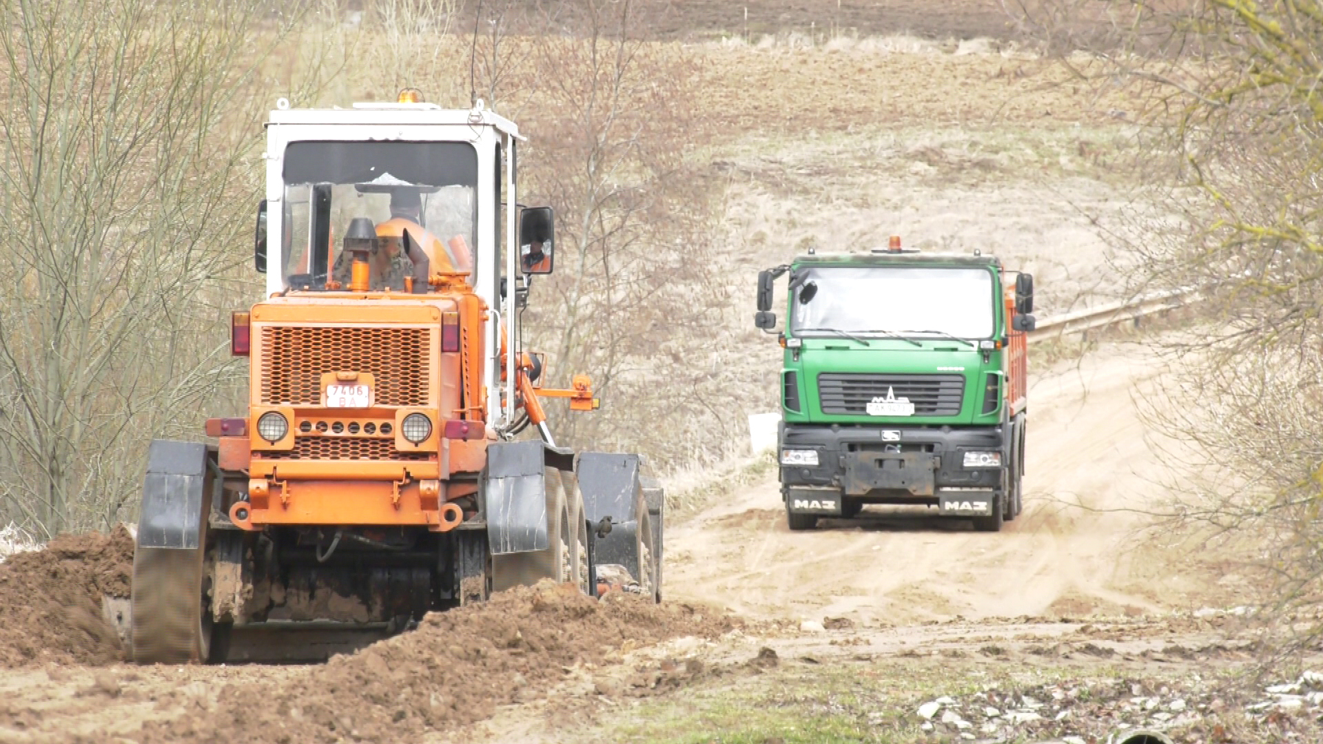 doroga - В Витебском районе жалуются на бездорожье (видео)