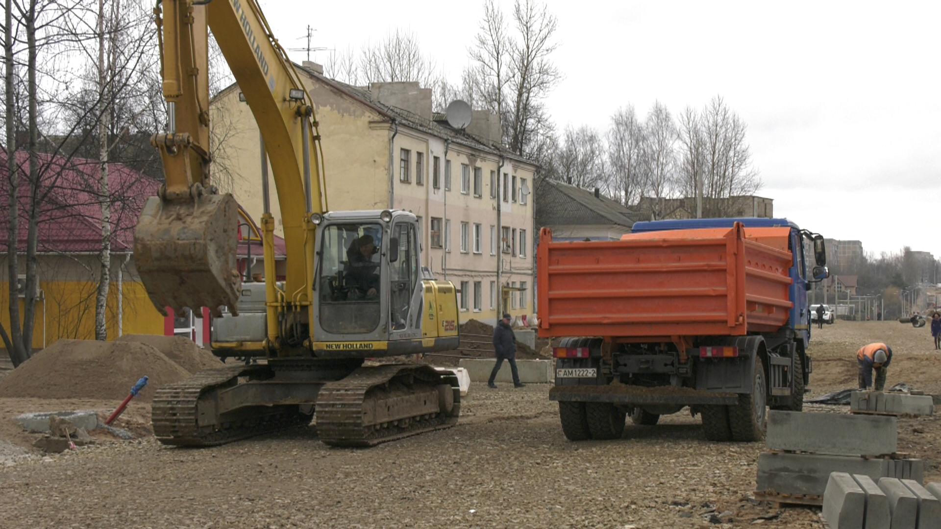 gagarina - Реконструкция улицы Гагарина. Что происходит на стройке сейчас? (видео)