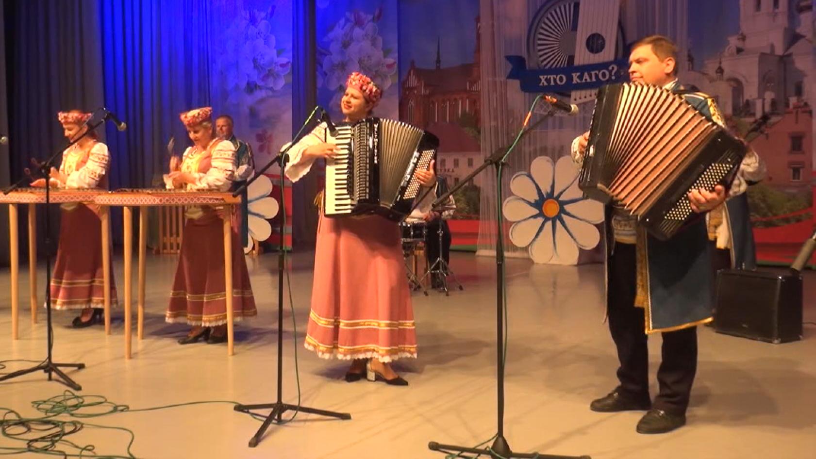 cymbaly - Фестиваль «Звіняць цымбалы і гармонік» прошёл в Поставах (видео)